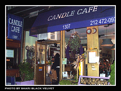Candle Cafe New York Ny Menu